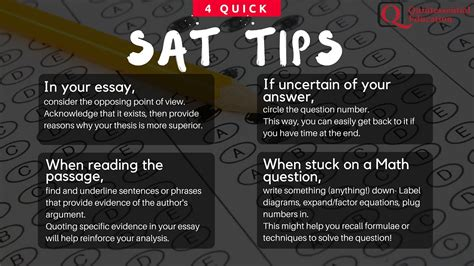 Tips For Sat Essay by Sat Tips Essay