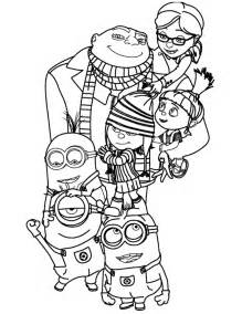 despicable me minions coloring pages despicable me coloring pages to print squid army