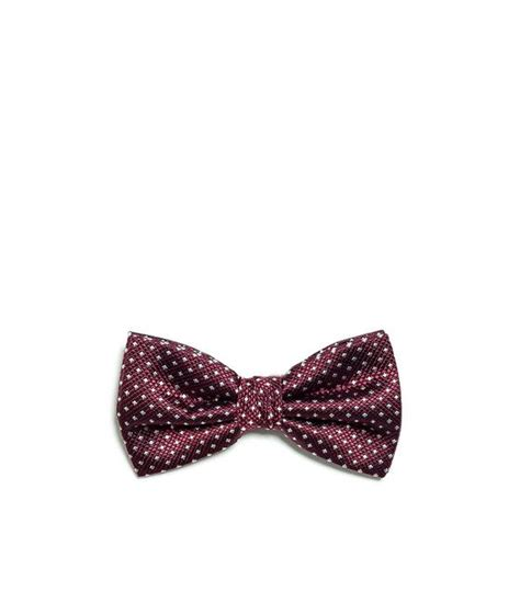 bow tie with mini crosses from zara for him