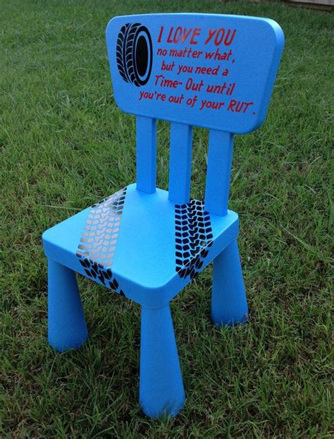 time out bench toddler time out chair kids furniture blue boys by thecraftygeeks