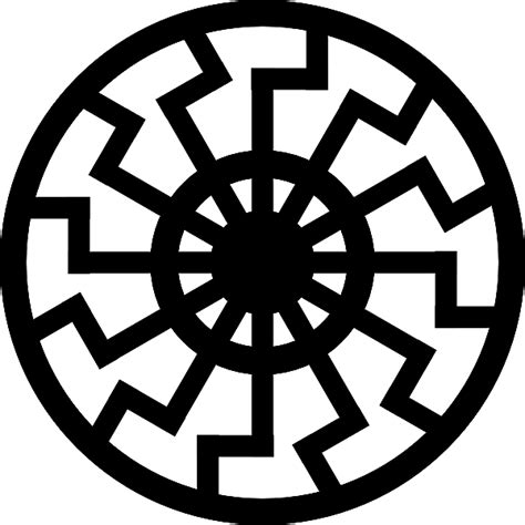 The Black Sun Sonnenrad Symbols Of The Ss Black Sun Meaning