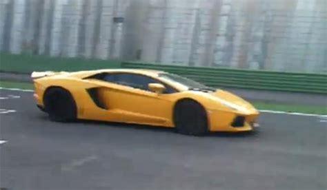 Yellow Lamborghini Yellow Top Missing Lamborghini Aventador Lp700 4 On Vallelunga Race