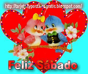 imagenes de feliz sabado para un amor feliz s 193 bado gif animados