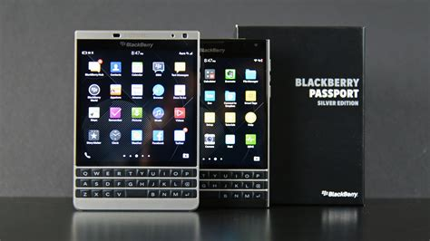Blackberry Passport Black blackberry passport silver edition unboxing comparison