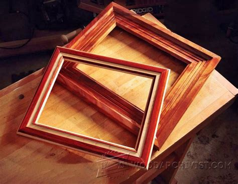 woodworking plans picture frames router made picture frame plans woodarchivist