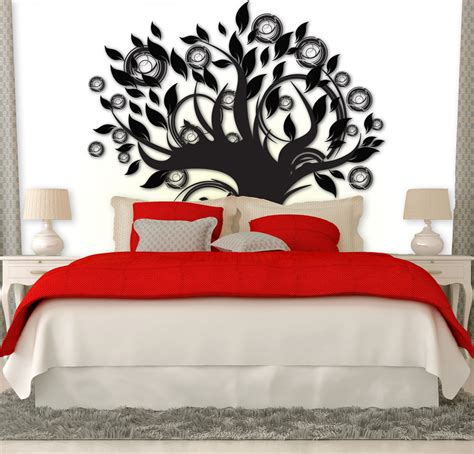 Headboard Wall Decal by Tree Headboard Sticker Removable Wall Stickers And Wall