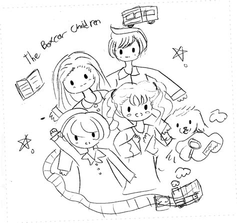 Boxcar Children Coloring Pages how to draw boxcar children