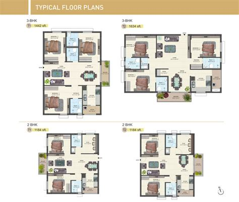 typical floor plan tirupati temple town typical floor plans
