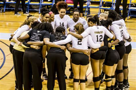 alabama state university volleyball team alabama state plays florida in ncaa first round swac