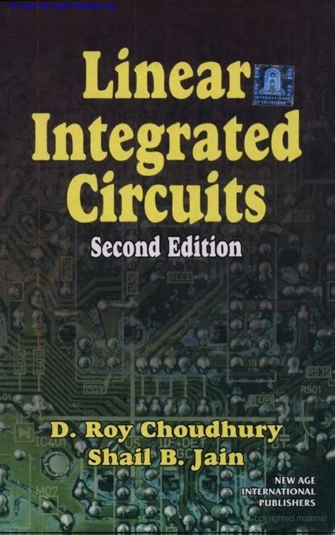 linear integrated circuits by roy choudhary solution pdf swec communics linear integrated circuits ebook free