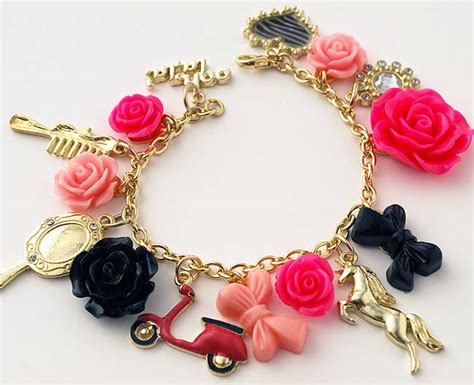DIY Charm Bracelets with Jewel Pop Shop