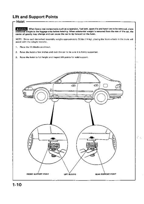 28 92 95 honda civic repair manual free 119444