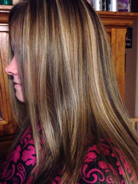 foil highlights for brown hair foiled hair color pictures dark brown hairs