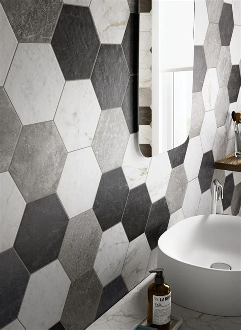 Black And White Bathroom Design by Bathroom Flooring In Porcelain Stoneware Ragno