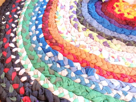 friday project braided t shirt rag rug do small things