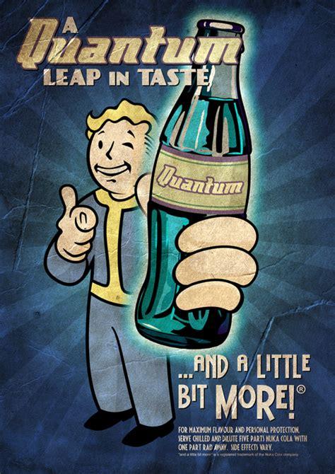 nuka cola quantum poster  markuzr  deviantart