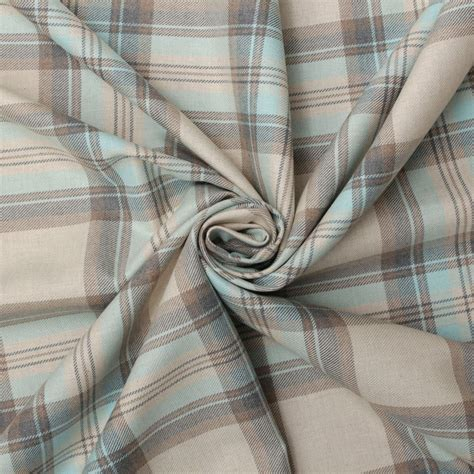 100 cotton upholstery fabric 100 cotton tartan check pastel plaid faux wool sofa
