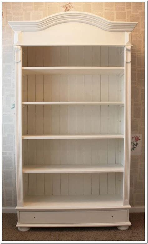 Store Your Fantasies And Reality In Wooden Bookshelf How To Paint A Bookcase White