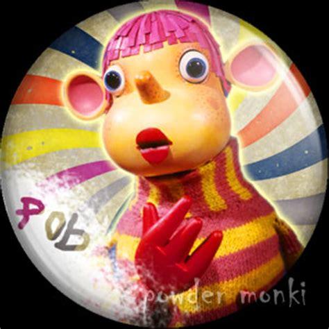 Pob - Retro Cult TV Badge/Magnet - £1.50 : [Powder Monki] Fridge Magnet Toys