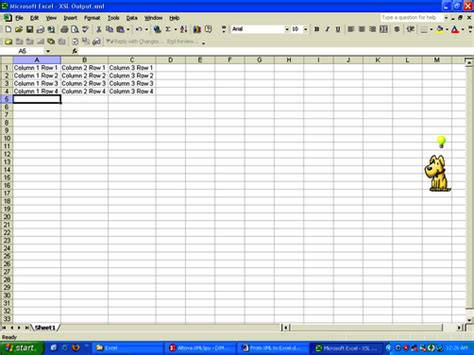 Convert Xml To Spreadsheet by Convert An Xml File Into An Excel Spreadsheet With This
