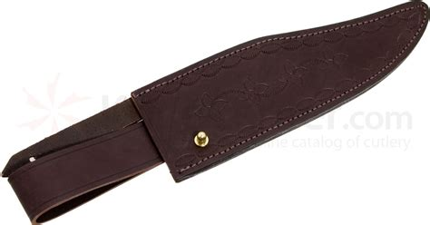 bowie knife with leather sheath ixl wostenholm leather sheath for 10 quot classic bowie