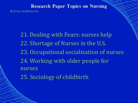 Nursing Shortage Essay by Research Paper On Nursing Shortage