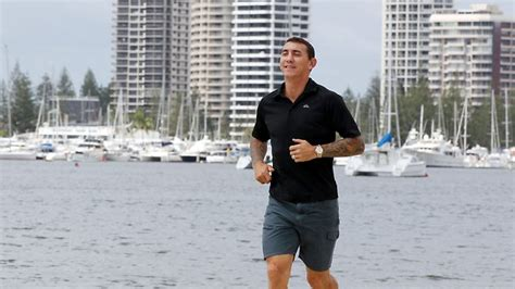 Mat Typing Rogers by Mat Dares To Go Distance As Triathlete The Courier Mail