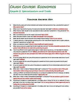high school student economics worksheet high best free
