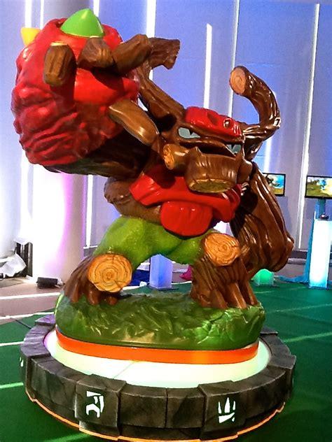 Skylanders Giants Tree Rex exclusive sneak peek of skylanders giants out with the