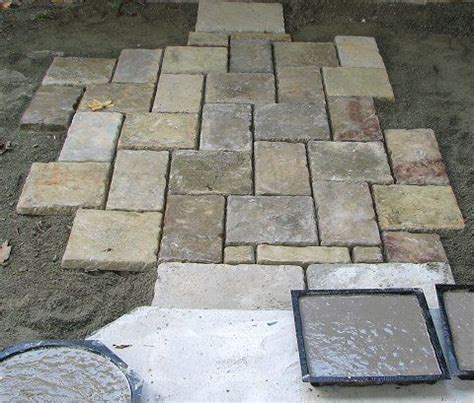 Patio Molds Concrete Pavers 25 Best Ideas About Stepping Molds On Plaster Of Uses Plaster Of
