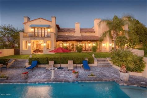 Spanish Colonial Masterpiece In Tucson Arizona Luxury Luxury Homes Tucson Az