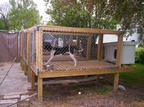 Pdf Raised Puppy Pen by Pictures Of Above Ground Kennels Raised Kennel