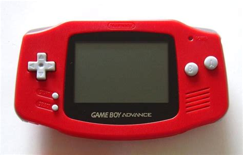 gameboy advance color boy advance console variations the database for all