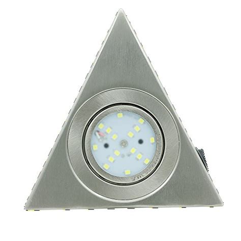 replace halogen under cabinet lighting with led lvjing 174 3w led under cabinet lighting triangle puck