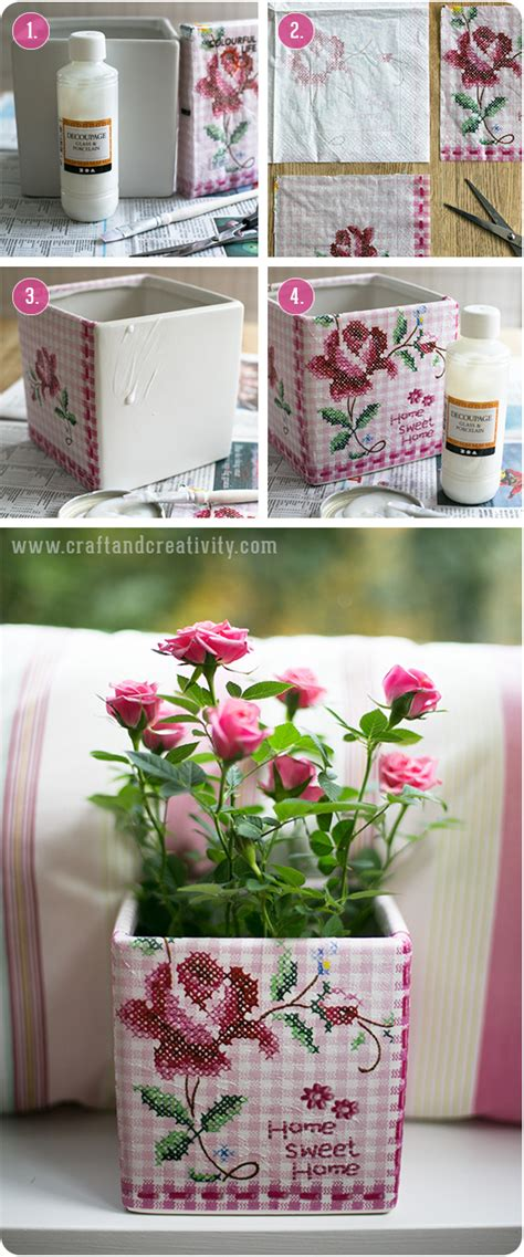 Craft Decoupage - napkin craft creativity pyssel diy