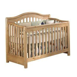 Vicki 4 In 1 Crib by Vicki 4 In 1 Crib Oak On Pine By Sorelle
