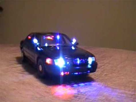 undercover police light package 1 18 very rare police undercover fbi working lights youtube