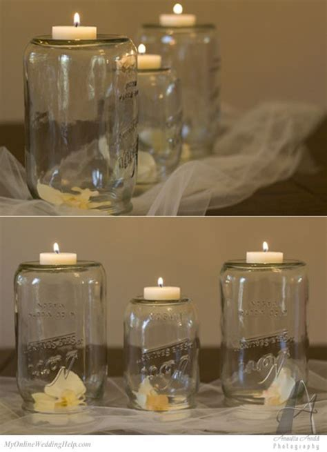 19 Mason Jar Centerpiece Ideas for Weddings   Masons
