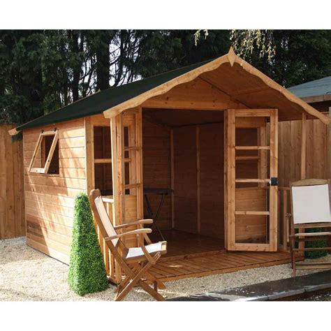 shedswarehouse oxford summerhouses 10ft x 8ft wessex summerhouse 12mm t g floor roof