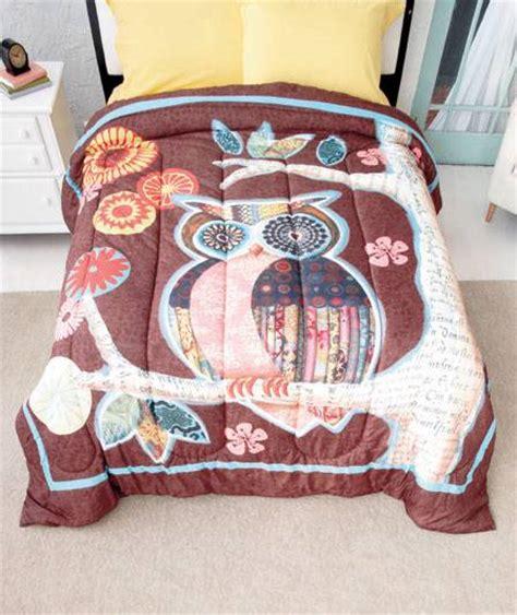 owl comforter set queen new trendy owl friend bedroom comforter twin or full