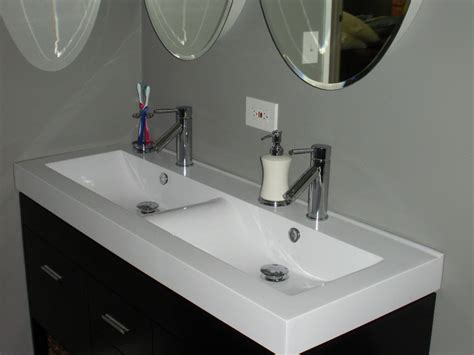 48 undermount trough sink 48 inch bathroom trough sink sinks ideas