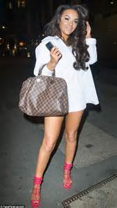 Showing In Chelsee Healey Shows A Lot Of Leg As She Steps Out In