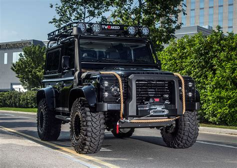 land rover spectre the tweaked automotive spectre edition defender 90