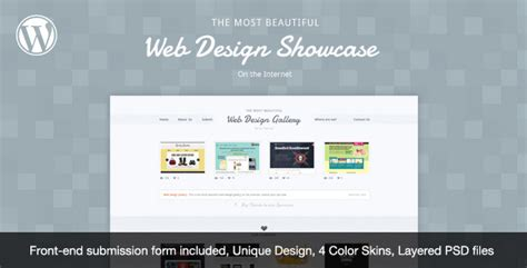 design menu in wordpress web design showcase wordpress theme by cssmania