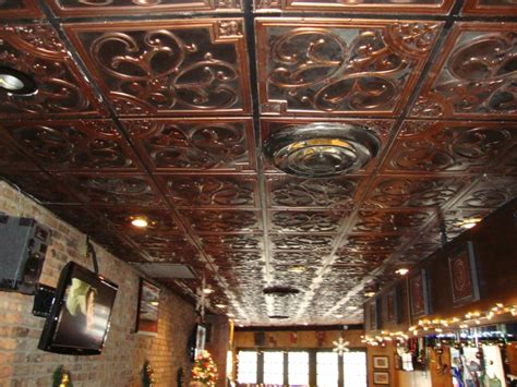 how to repairs how to install faux tin ceiling tiles