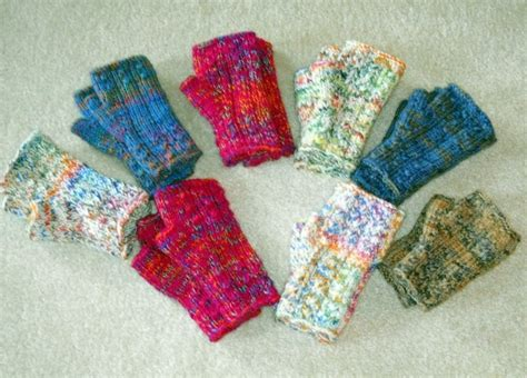 pinterest gloves pattern confetti fingerless mittens knit flat fetching inspired