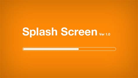 mobile splash screen templates splash screen freebies gallery