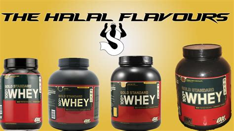 Whey Protein Halal is optimum nutrition 100 whey halal