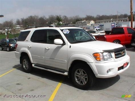 Toyota Sequoia 2003 2003 Toyota Sequoia Limited 4wd In White 180029
