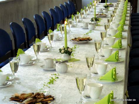 tafel dekoration partyservice henry binder ihr partner in sachen catering